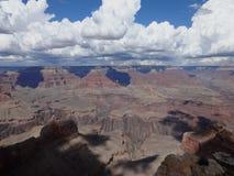 Grand Canyon di vista aerea Immagini Stock Libere da Diritti
