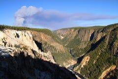 Grand Canyon di Yellowstone fotografia stock