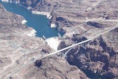 Grand Canyon die Arial-Mening verbazen De Brug van Navajo Helikopterreis royalty-vrije stock foto's