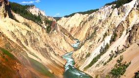 Grand Canyon do Yellowstone video estoque