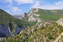Grand Canyon du Verdon Royalty Free Stock Photo