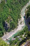 Grand Canyon du Verdon Royalty Free Stock Photography
