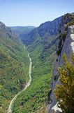 Grand Canyon du Verdon Stock Photo