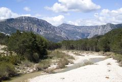 Grand Canyon du Verdon, France Royalty Free Stock Images