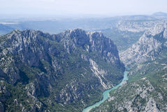 Grand Canyon du Verdon, France Royalty Free Stock Image