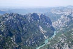 Grand Canyon du Verdon, France royalty free stock image