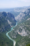 Grand Canyon du Verdon, France stock images
