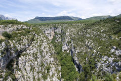 Grand Canyon du Verdon, France Stock Image