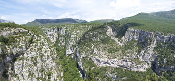 Grand Canyon du Verdon, France Royalty Free Stock Photos