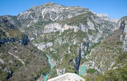 Grand Canyon du Verdon,France Stock Photos