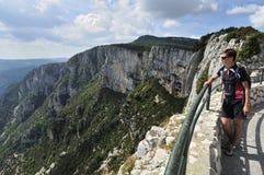 Grand Canyon du Verdon, Provence, Frankreich lizenzfreie stockfotografie