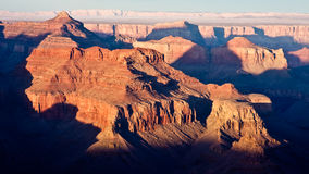 The Grand Canyon at Dusk Stock Photo