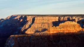 The Grand Canyon at Dusk Stock Images