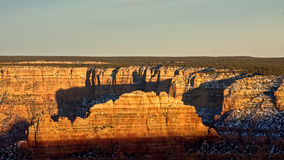 The Grand Canyon at Dusk Royalty Free Stock Images