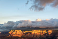 Grand Canyon Early Morning Royalty Free Stock Photography