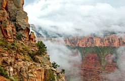 Grand canyon edge Royalty Free Stock Images