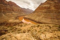 Grand Canyon el río Colorado Imágenes de archivo libres de regalías