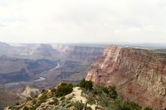 Grand Canyon en Arizona Etats-Unis - 3 Photographie stock