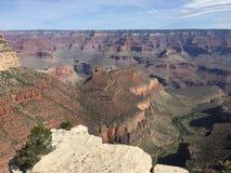 Grand Canyon en deap es el río Colorado, Arizona foto de archivo libre de regalías