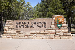 Grand Canyon Entrance. The entrance to the Grand Canyon National Park, Arizona, USA Royalty Free Stock Photography