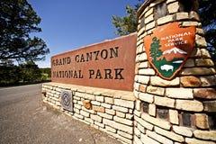 Grand Canyon Entrance Stock Photo