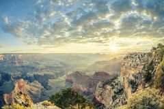 Grand Canyon et sunrise Royalty Free Stock Images