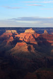 Grand Canyon evening Stock Photo