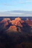 Grand Canyon evening Stock Photo