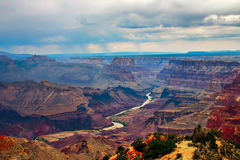 Grand Canyon in evening light. Stock Image