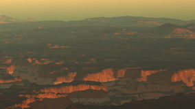 Grand Canyon extreme zoom out, stock footage Royalty Free Stock Image