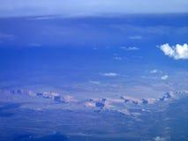 Grand Canyon från luft Royaltyfria Bilder