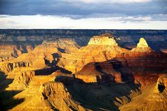 Free Grand Canyon From Bright Angel Lodge Royalty Free Stock Photography - 1520007