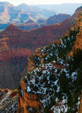 Grand Canyon After Glow. Majestic Vista of the Grand Canyon at Dusk Royalty Free Stock Image