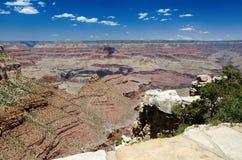 Grand Canyon Gr Tovar overziet Stock Afbeeldingen