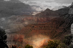 Grand canyon grand Images libres de droits