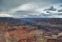 Grand Canyon Grand View Royalty Free Stock Photos
