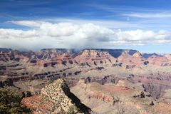 Grand Canyon Grandview Fotografia Stock