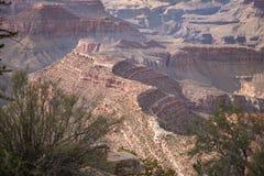 Grand Canyon Grandview Point landscape view. Grand Canyon landscape view at Grandview Point, South Rim, Arizona. USA Royalty Free Stock Photo