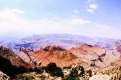 Grand Canyon from Grandview Point. USA Stock Images