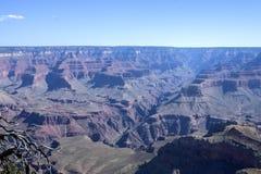 Grand Canyon, Grandview-Punt, Arizona Stock Afbeeldingen