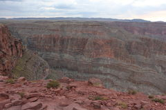 Grand canyon. The great grand canyon at the west point arizona, Aborigines resort Stock Photography