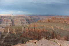 Grand canyon. The great grand canyon at the west point arizona, Aborigines resort and the Colorado river Stock Photos