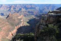 Grand Canyon Helder Angel Trail Stock Foto's