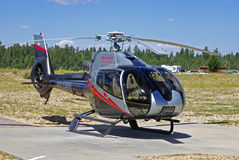 A Grand Canyon Helicopter Royalty Free Stock Photography