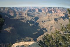 grand canyon hopi punkt Fotografia Stock