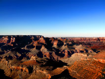 Grand Canyon horizon Royalty Free Stock Photography