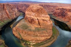 Grand Canyon Horseshoe Bend Stock Photo