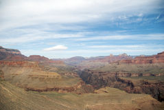Within Grand Canyon from Horseshoe Mesa Royalty Free Stock Photo