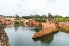 Grand Canyon i Chiang Mai, Thailand Fotografering för Bildbyråer