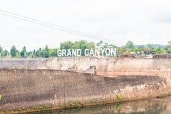 Grand Canyon i Chiang Mai, Thailand Arkivbild